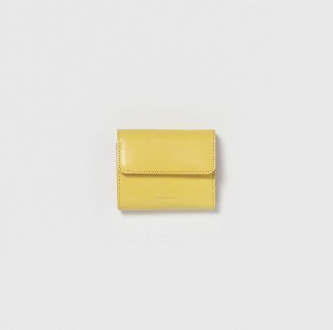 Hender Scheme / bellows wallet - yellow