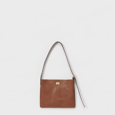Hender Scheme / twist buckle bag S - dark brown