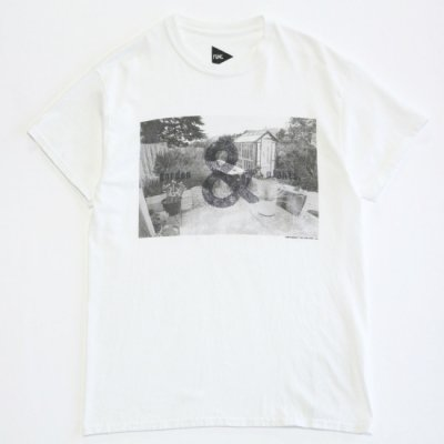 FUNG / PHOTO PRINT Tee (GARDEN) - WHITE