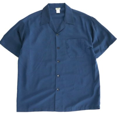 CALTOP / OPEN COLLAR SHIRTS - NAVY