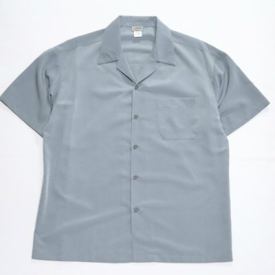 <img class='new_mark_img1' src='https://img.shop-pro.jp/img/new/icons58.gif' style='border:none;display:inline;margin:0px;padding:0px;width:auto;' />CALTOP / OPEN COLLAR SHIRTS - GRAY