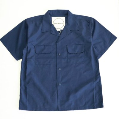 <img class='new_mark_img1' src='https://img.shop-pro.jp/img/new/icons16.gif' style='border:none;display:inline;margin:0px;padding:0px;width:auto;' />BURLAP OUTFITTER / S/S CAMP SHIRTS - NAVY