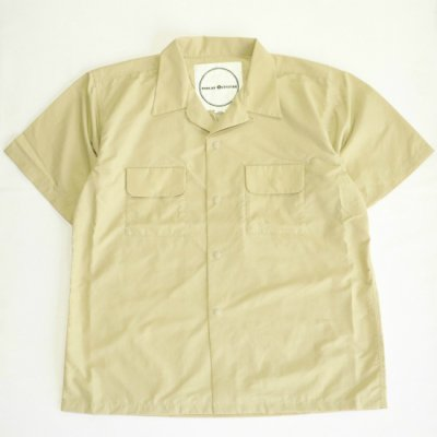 <img class='new_mark_img1' src='https://img.shop-pro.jp/img/new/icons16.gif' style='border:none;display:inline;margin:0px;padding:0px;width:auto;' />BURLAP OUTFITTER / S/S CAMP SHIRTS - SAND