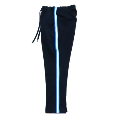 <img class='new_mark_img1' src='https://img.shop-pro.jp/img/new/icons16.gif' style='border:none;display:inline;margin:0px;padding:0px;width:auto;' />Niche. / TRACK LINE PANTS - NAVY