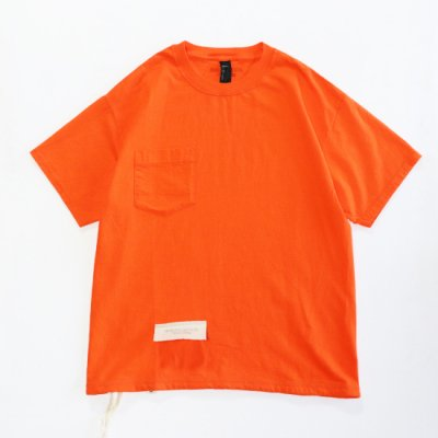 HESTRADA/GEE-WIZ SWITCH S/S Tee - ORANGE
