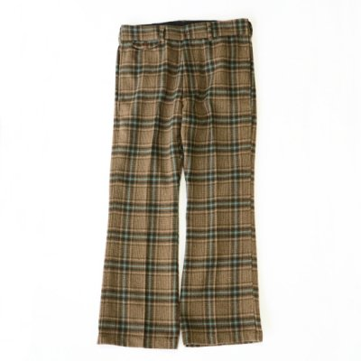 Needles / F.P. Boot-Cut Trouser - Plaid Tweed