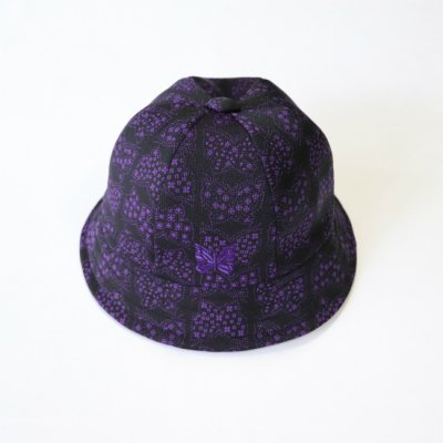 Needles / BERMUDA HAT - POLY JQ. - Papillon