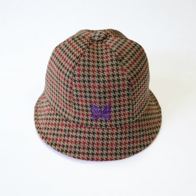 Needles / BERMUDA HAT - POLY JQ. - Houndtooth