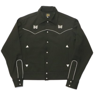 Needles / PIPING COWBOY JACKET - BLACK