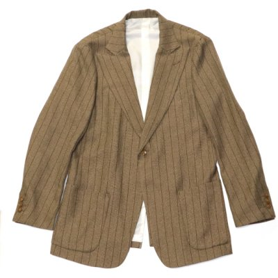 Needles / PEAKED LAPEL 1B JACKET - BROWN