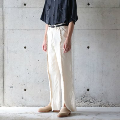 Niche × Ichiryumade / Docking Painter Pants - Outseam