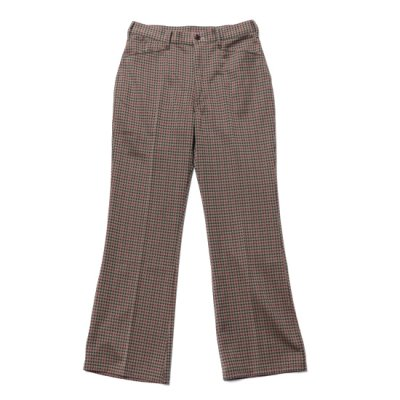 Needles / Boots Cut Student Pants(Poly JQ) - Houndtooth