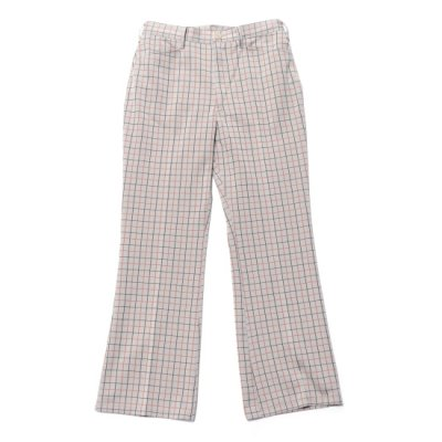 Needles / Boots Cut Student Pants(Poly JQ) - Plaid