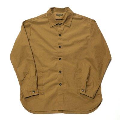 A Vontade (ア ボンタージ) / Gardener Shirt Jacket - Tan