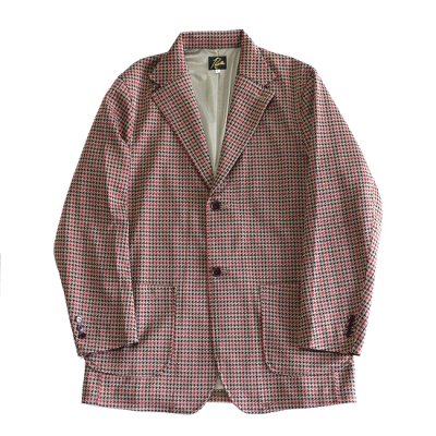 Needles / 2B Jacket - Poly Jq. - Houndstooth