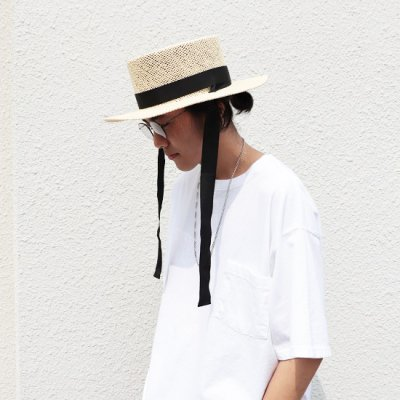 NOC(エヌオーシー) / DAIDOU HAT - OFF WHITE