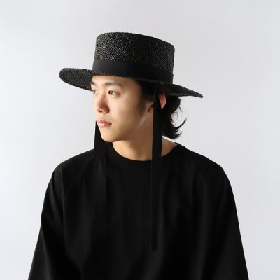 NOC(エヌオーシー) / DAIDOU HAT - BLACK