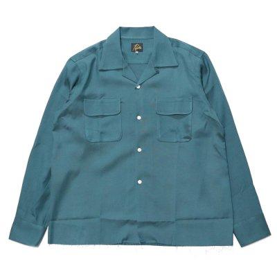 Needles / C.O.B.Classic Shirt (R/C Chambray) - EMERALD