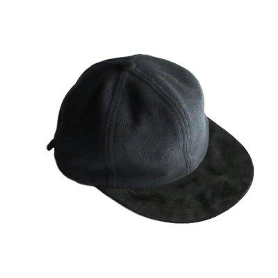 Hender Scheme / 2 tone wool cap - Black