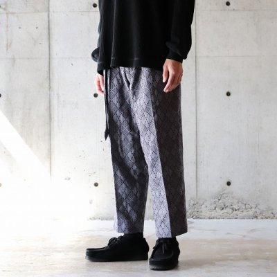 KUON (クオン) / Belted Pants - Gry