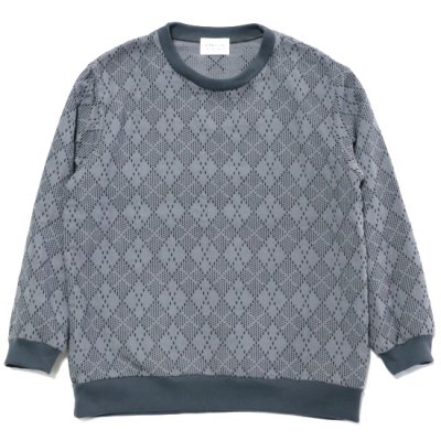 """KUON (クオン) / Pullover Shirts """"A""""- Grey"""