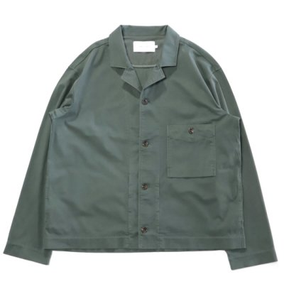 CURLY / FROSTED SHIRCKET - OLIVE