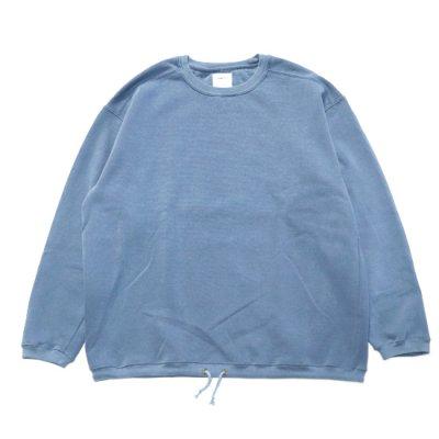 ODDMENT / Remake Dyed Sweat - BLUE JEAN