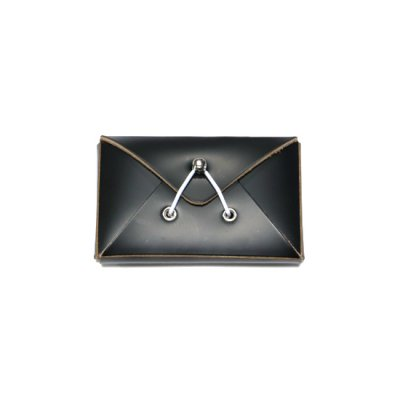 Hender Scheme / assemble envelope card case - BLACK