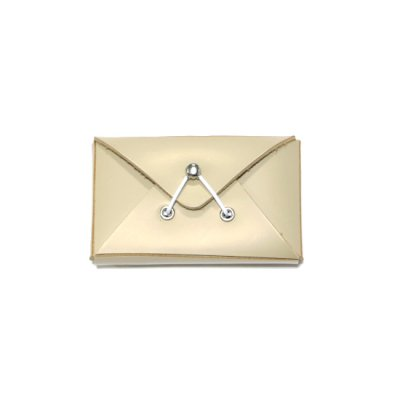 Hender Scheme / assemble envelope card case - BEIGE