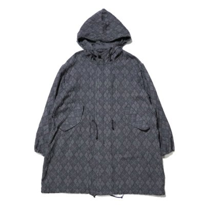 KUON (クオン) / Hooded Coat - GRY