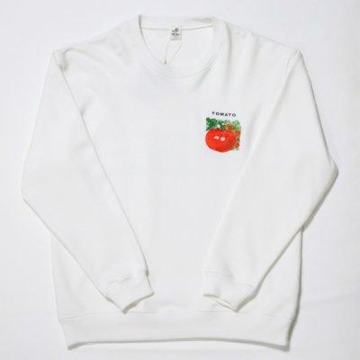 Niche (ニッチ) / Vegetable EMB Sweat (TOMTO)- WHITE