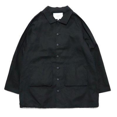 have a good day / Work Shirts Coat - BLACK