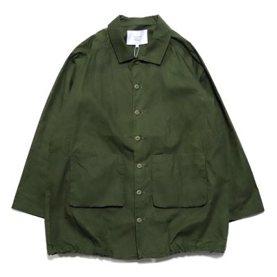 have a good day / Work Shirts Coat - OLIVE
