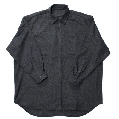 BURLAP OUTFITTER / LONG SLEEVE B.B. SHIRT WV - CHARCOAL