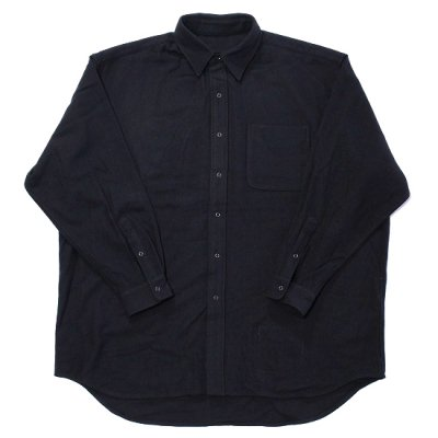 BURLAP OUTFITTER / LONG SLEEVE B.B. SHIRT WV - BLACK