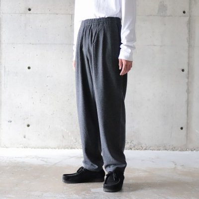 BURLAP OUTFITTER / TRACK PANTS WV - CHARCOAL