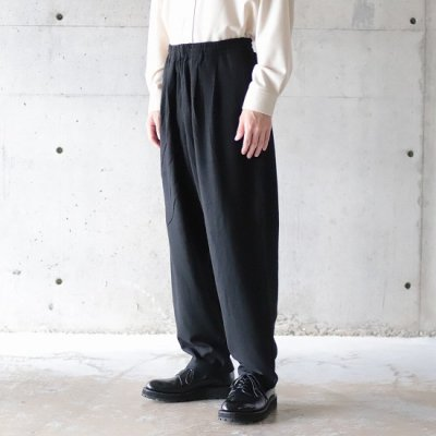 BURLAP OUTFITTER / TRACK PANTS WV - BLACK
