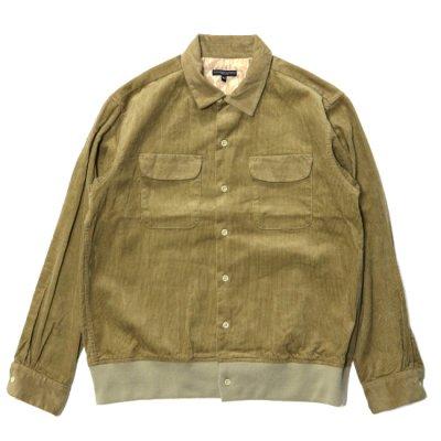 Engineered Garments(エンジニアードガーメンツ)/ Classic Shirt (14W Cord) - KHAKI