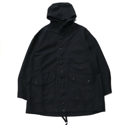 Engineered Garments(エンジニアードガーメンツガーメンツ)/ Madison Parka (Double Cloth) - BLACK