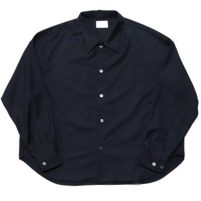superNova (スーパーノバ) / Big shirt (Gabardine) - BLACK