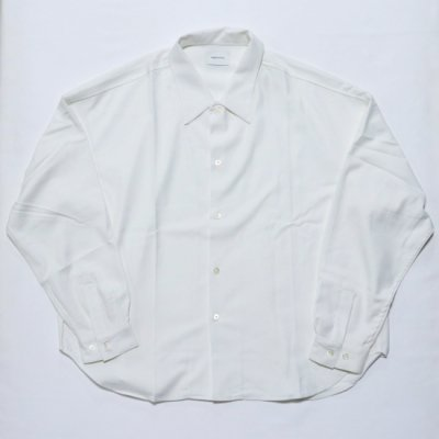 superNova (スーパーノバ) / Big shirt (Gabardine) - WHITE