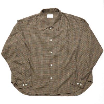 superNova (スーパーノバ) / Big shirt (Check) - BEIGE