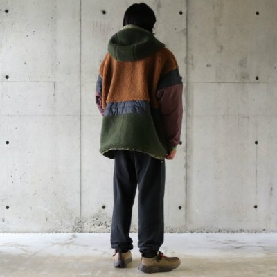 ROTOL (ロトル) / REVERSIBLE CATAPULT PARKA - OLIVE