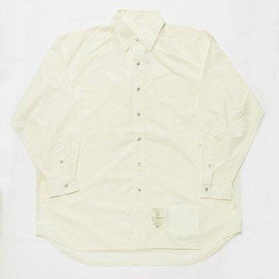 BURLAP OUTFITTER(バーラップアウトフィッター)/ 別注 LS B.B. SHIRTS - OFF WHITE