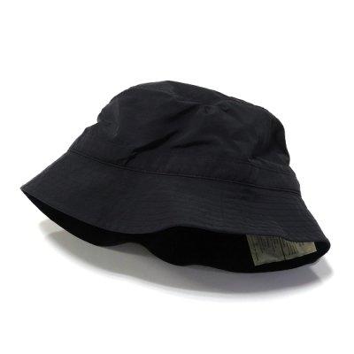BURLAP OUTFITTER(バーラップアウトフィッター)/ 別注 BUCKET HAT - BLACK