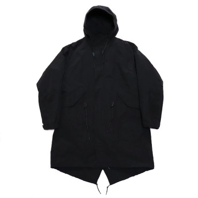 A VONTADE / Fishtail Parka With Liner - BLACK