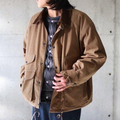 PORTRAITE (ポートレイト) / Classic Field Jacket (Brushed Twill) - KHAKI