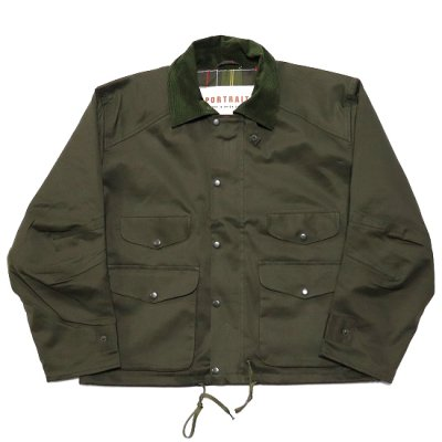 PORTRAITE (ポートレイト) / Classic Field Jacket (Twill) - OLIVE