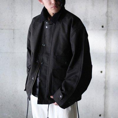 PORTRAITE (ポートレイト) / Classic Field Jacket (Canvas) - BLACK