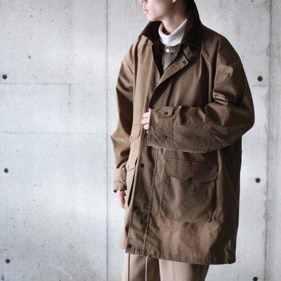 PORTRAITE (ポートレイト) / Classic Field Jacket Long (Brushed Twill) - KHAKI